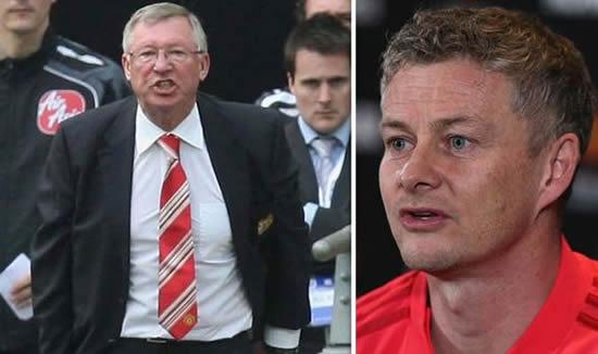 Man Utd boss Ole Gunnar Solskjaer fires warning: I'm not afraid to copy Sir Alex Ferguson