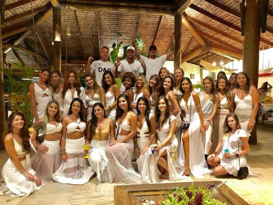 PSG ace Neymar sees in New Year with 26 WOMEN at wild party in Brazil