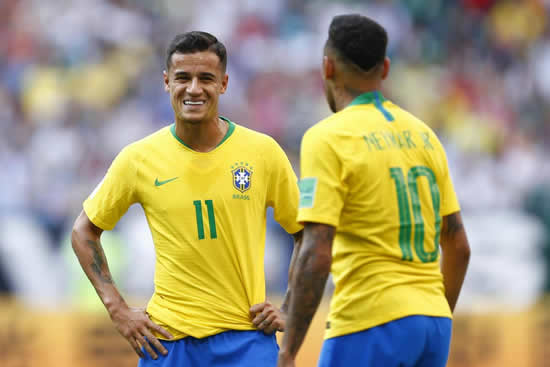 Barcelona could transfer Philippe Coutinho to fund deal to bring Neymar back to Camp Nou