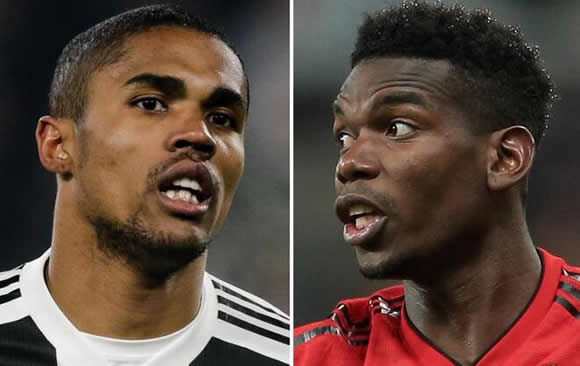 Man Utd 'offer Paul Pogba to Juventus' in swap deal for Douglas Costa