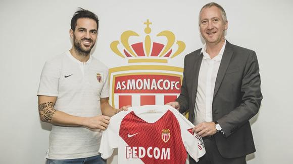 Official: Cesc Fabregas joins AS Monaco from Chelsea