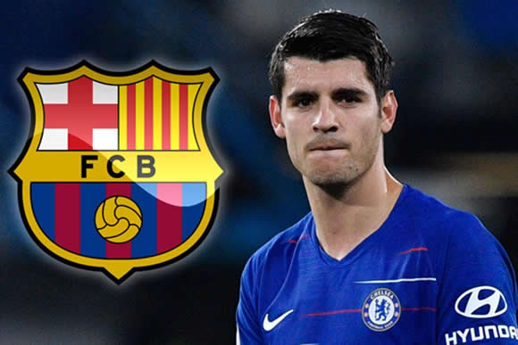 Alvaro Morata could join Barcelona on loan, but only if Denis Suarez joins Arsenal