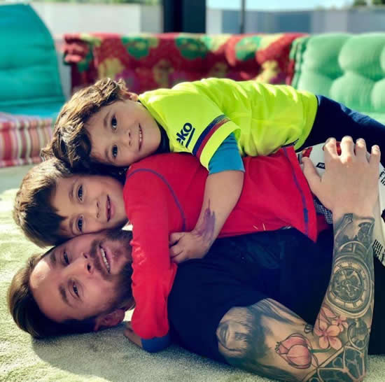 NO KIDDING Lionel Messi reveals eldest son Thiago criticises him to his face after a bad game