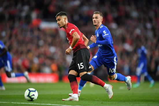 Man Utd boss Solskjaer rules out Pereira loan move