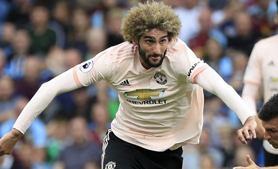 Fellaini to quit Man Utd for £365,000-a-week contract