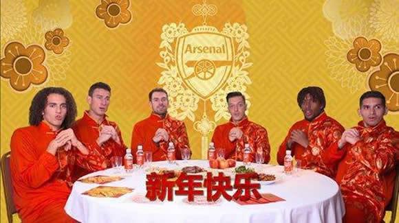Arsenal stars play Mahjong, make dumplings and speak MANDARIN in hilarious Chinese New Year video