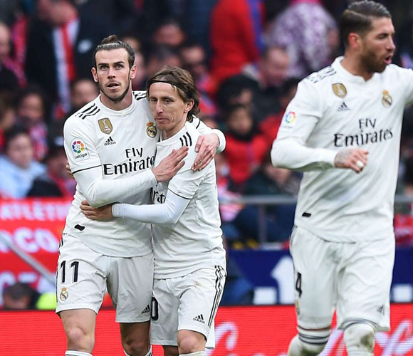 Atletico Madrid 1 Real Madrid 3: Bale nets 100th Blancos goal to seal first Wanda win