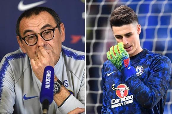 Maurizio Sarri reveals Kepa Arrizabalaga future plans after Chelsea beat Tottenham