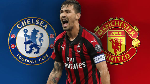 Man Utd and Chelsea join race for £60m AC Milan captain Alessio Romagnoli