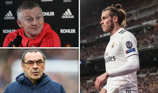 BBC pundit reveals the THREE teams Gareth Bale could leave Real Madrid for