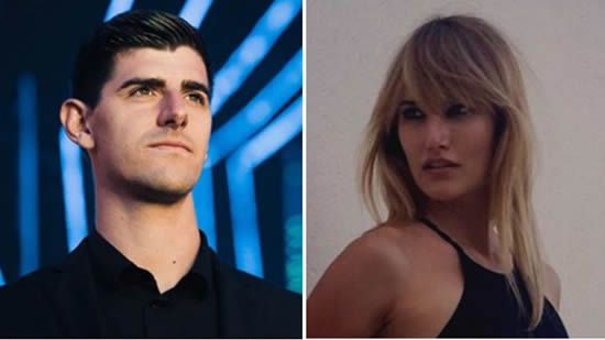 Courtois denies Alba Carrillo relationship rumours