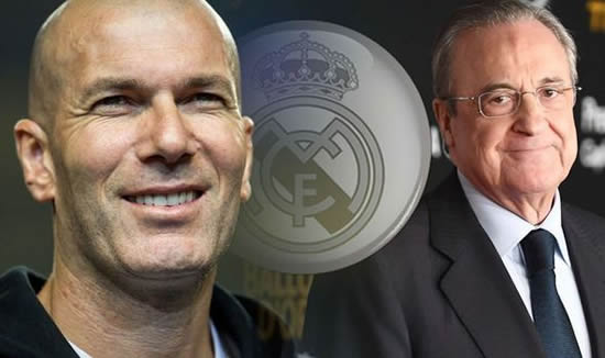 Zinedine Zidane CONFIRMED as Real Madrid boss following Santiago Solari sacking