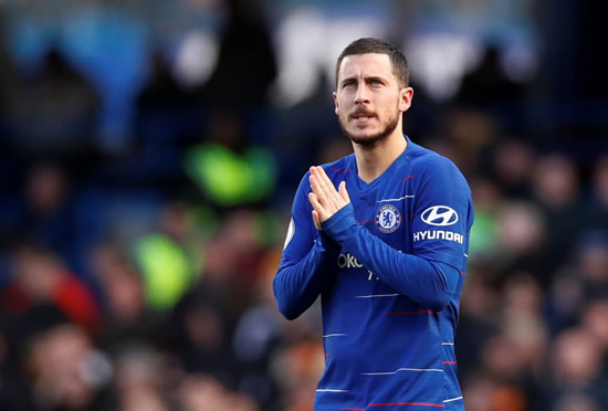 HAZARD WATCH Real Madrid set to make £70m opening offer for Eden Hazard to Chelsea