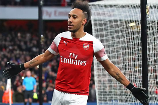The real reason Arsenal star Aubameyang didn't celebrate with mask vs Man Utd revealed