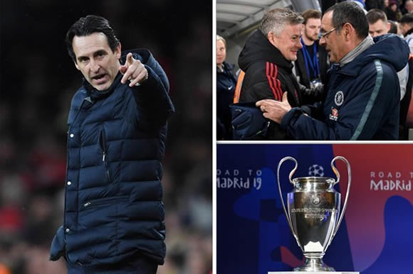 How Man Utd and Chelsea could COST Arsenal Champions League football next season