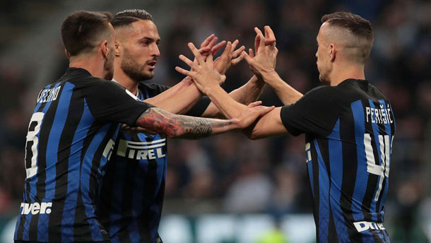 Inter 1 Roma 1: Perisic answers El Shaarawy stunner