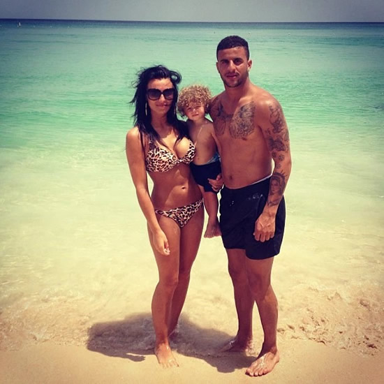 Man City Star Kyle Walker's Girlfriend Gets Revenge On