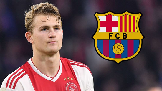 Barcelona close to deal for Ajax star De Ligt