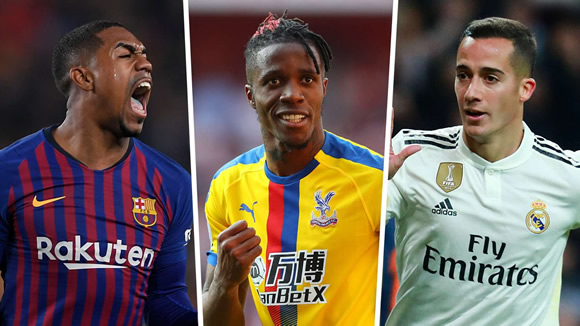 Arsenal focus remains on Zaha despite £30m Lucas Vazquez link