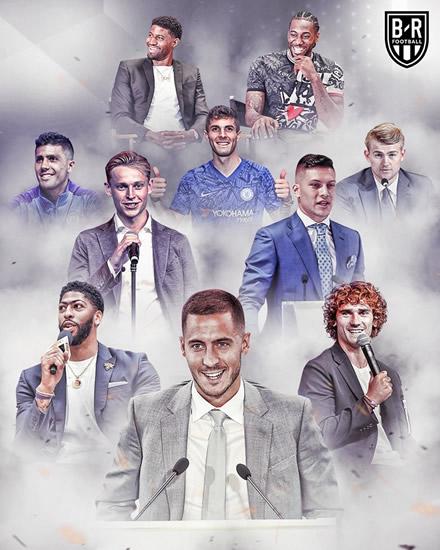 Transfer Market Real Madrid S 570m Euros For: Man Utd In EPL Vs Pre Season