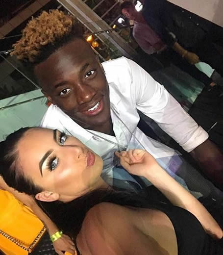 Chelsea striker Tammy Abraham's girlfriend says 'there is a place in hell for racist scum bags' as Man Utd pair Marcus Rashford and Jesse Lingard back England teammate