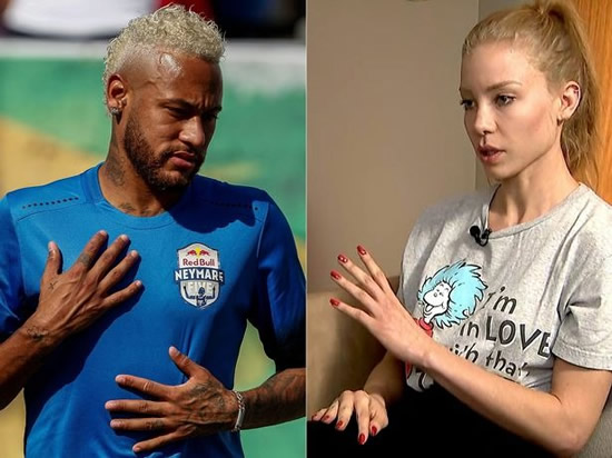 Brazilian model who accused Neymar of rape charged with fraud along with ex