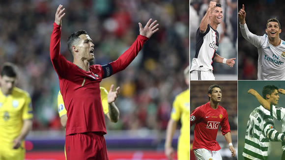 Cristiano Ronaldo adds to his collection: Scored against 150 different teams