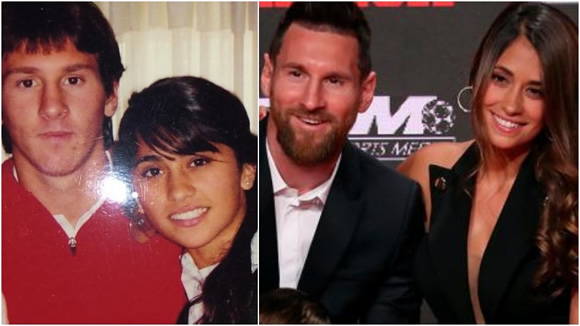 Messi and Antonela Roccuzzo: How much they've changed!