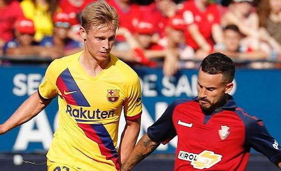 Barcelona coach Valverde: De Jong simply a great player