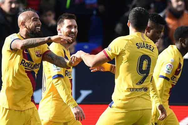 Leganes 1-2 Barcelona: Vidal salvages late victory for LaLiga leaders