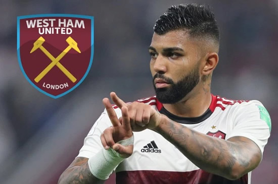 IRONS MAN West Ham join race for £20million Brazilian hotshot Gabigol with David Moyes keen on the striker