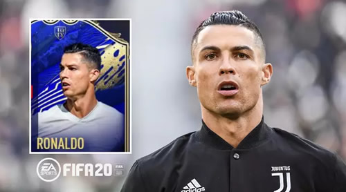 Cristiano Ronaldo Has Been Given A 99-Rated FIFA Team Of The Year Card