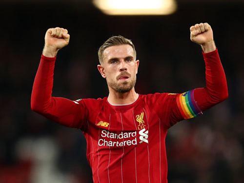 Jordan Henderson becomes dad exactly nine months after Liverpool beat Barcelona 4-0