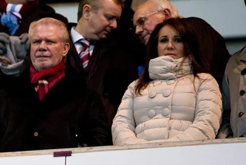 West Ham co-owner David Gold's daughter trolled after posting tweet wishing them luck in axed clash against Man City