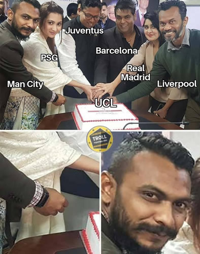 7M Daily Laugh - Man City in UCL