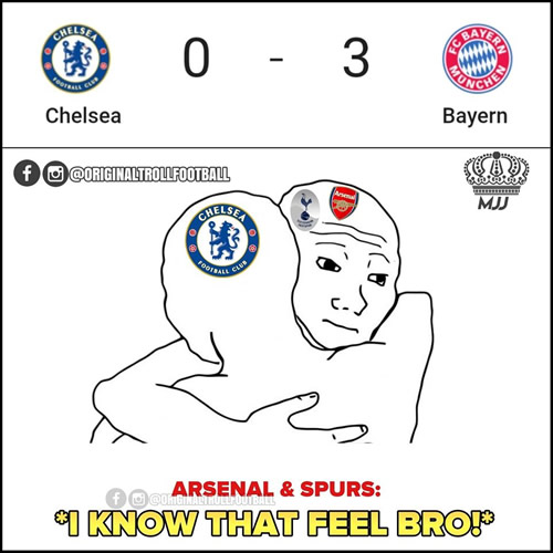 7M Daily Laugh - Bayern in London