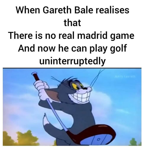 7M Daily Laugh - Bale without football