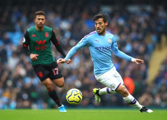David Silva expected to agree short-term contract extension with Man City – Telegraph