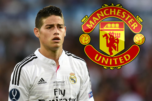 Man Utd offered over cut-price deal for long-term transfer target Real Madrid star James Rodriguez as contract runs down