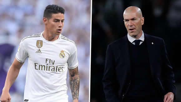 'I would tell Zidane to eat sh*t!' - James deserves more respect from Real Madrid boss, says Asprilla