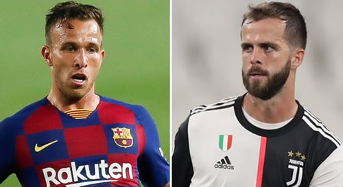 Arthur joins Juventus from Barcelona for €82m, Pjanic moves in other direction