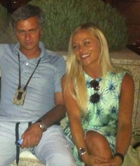 Married Jose Mourinho celebrates Tottenham win by visiting close female pal Prue Carter-Robinson