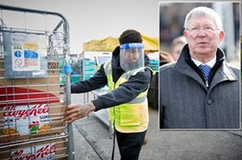 Sir Alex Ferguson's incredible gesture to Man Utd star Marcus Rashford's charity project