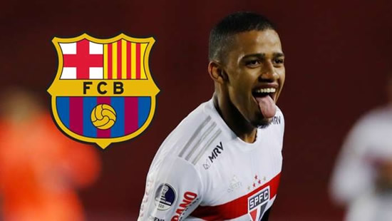 Brenner: Sao Paulo's 'New Gabi Jesus' who dreams of starring for Barca