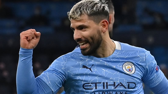 Sergio Aguero: Manchester City boss Pep Guardiola rules striker out of starting in Manchester derby