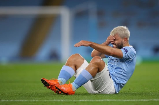 SERGI-BLOW Sergio Aguero reveals he is still struggling to recover from knee injury with Man City star battling for fitness