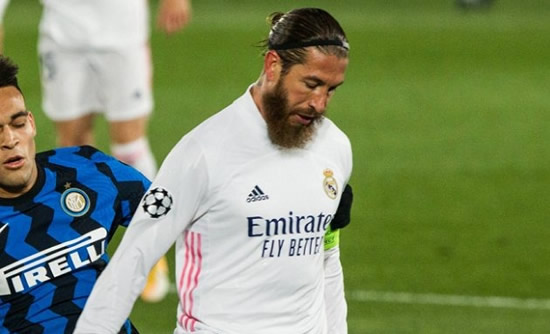 Man Utd willing to match Real Madrid offer for Sergio Ramos