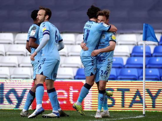 Matty Godden on the spot as Coventry beat Bristol City to boost survival hopes
