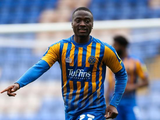 Daniel Udoh could return for Shrewsbury