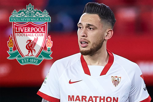 Jurgen Klopp 'wants to take' Sevilla's Lucas Ocampos to Liverpool